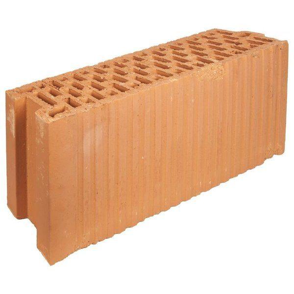 Блок керамический Porotherm 120x219x500 мм со склада в Москве