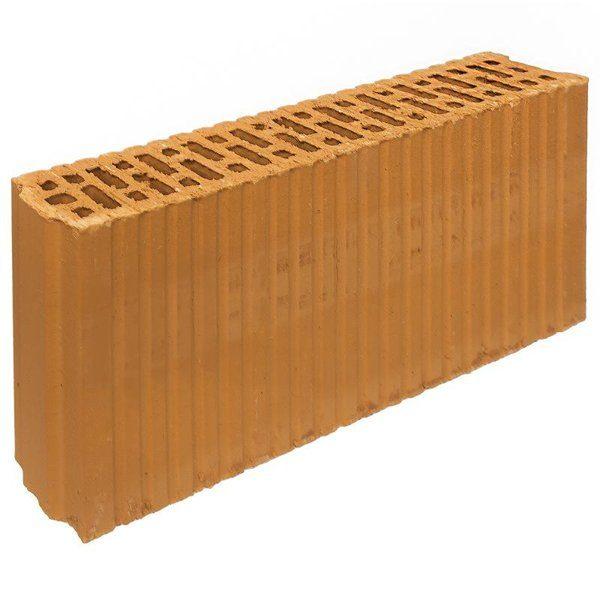 Блок керамический Porotherm 80x219x500 мм со склада в Москве