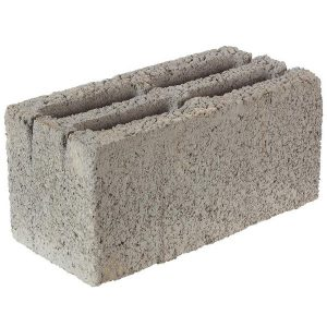 Блок стеновой керамзитобетонный (СКЦ) 390x190x188 мм со склада в Москве