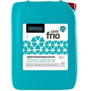 Добавка противоморозная Cemmix CemFrio со склада в Москве