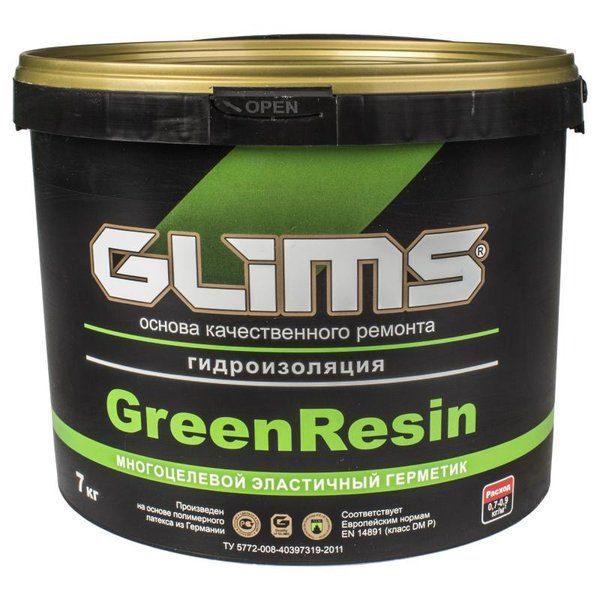 Герметик эластичный Glims GreenResin