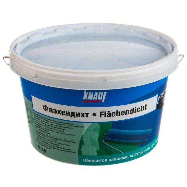 Гидроизоляция без битума Knauf Флэхендихт