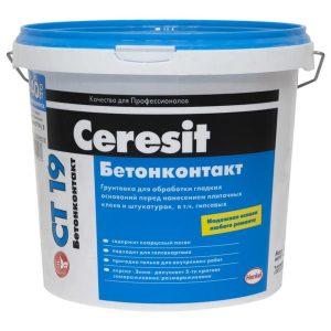 Грунт Бетонконтакт Ceresit CT19
