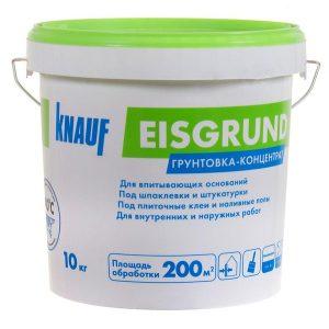 Грунт Knauf Айсгрунд концентрат 10 кг со склада в Москве