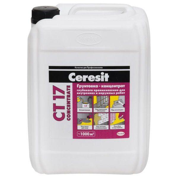 Грунт концентрат Ceresit CT17