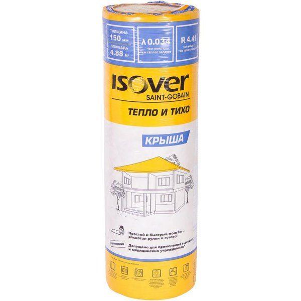 Изоляция Isover Крыша 150 мм