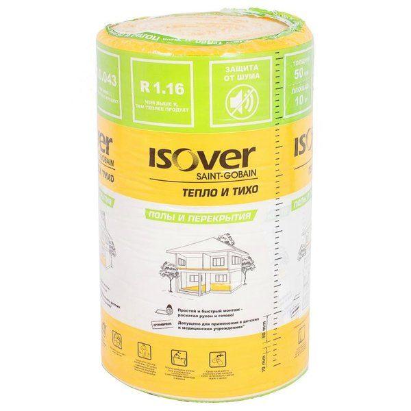 Изоляция Isover Полы и Перекрытия 50 мм