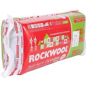 Изоляция Rockwool Лайт Баттс Скандик 150 мм