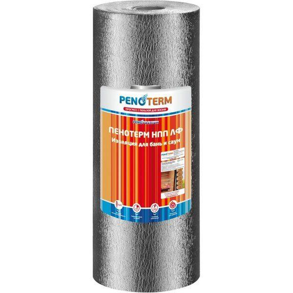 Изоляция отражающая Пенотерм 10 мм НПП ЛФ