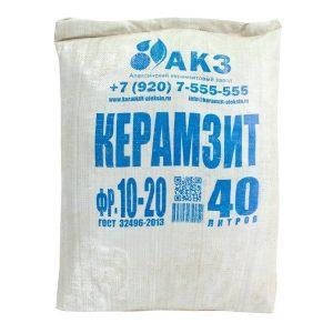 Керамзит фракция 10-20 мм