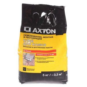 Клей для камня Axton 5 кг цвет белый со склада в Москве
