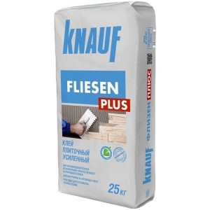 Клей для плитки усиленный Knauf Флизен Плюс