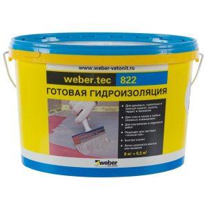 Мастика для гидроизоляции Weber Vetonit Weber.Tec 822