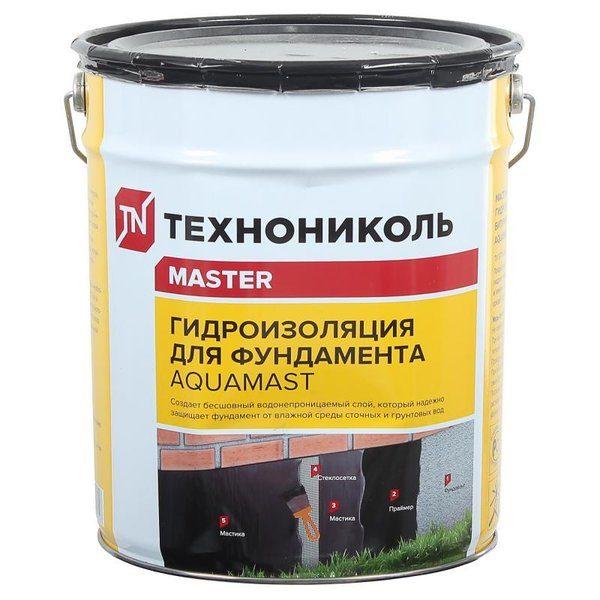Мастика гидроизоляционная AquaMast 18 кг со склада в Москве