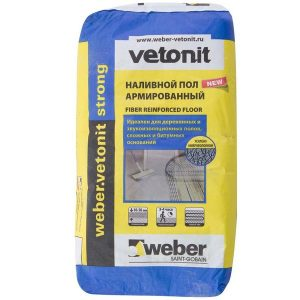 Наливной пол Weber Vetonit Strong