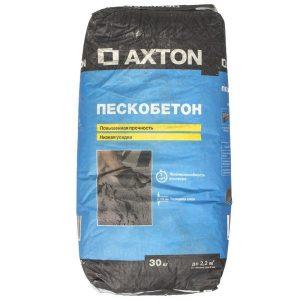 Пескобетон Axton