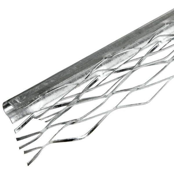 Профиль угловой (ПУ) оцинкованный сетчатый 35x35x3000 мм со склада в Москве