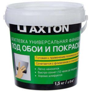 Шпаклёвка Axton универсальная 1.5 кг со склада в Москве