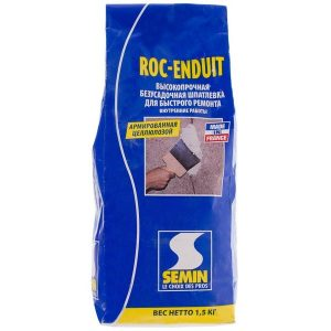Шпаклёвка для заделки и ремонта Semin Roc-Enduit