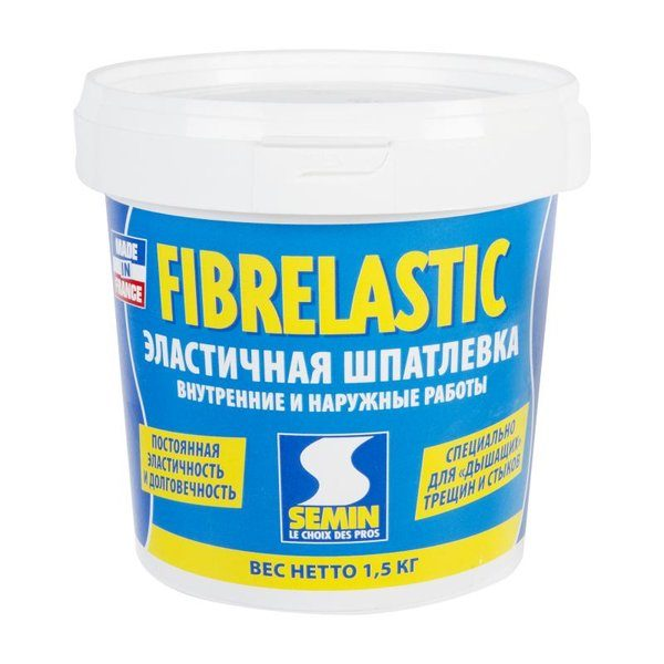 Шпаклёвка эластичная Semin Fiberlastic