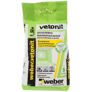 Шпаклёвка финишная Weber Vetonit LR Plus