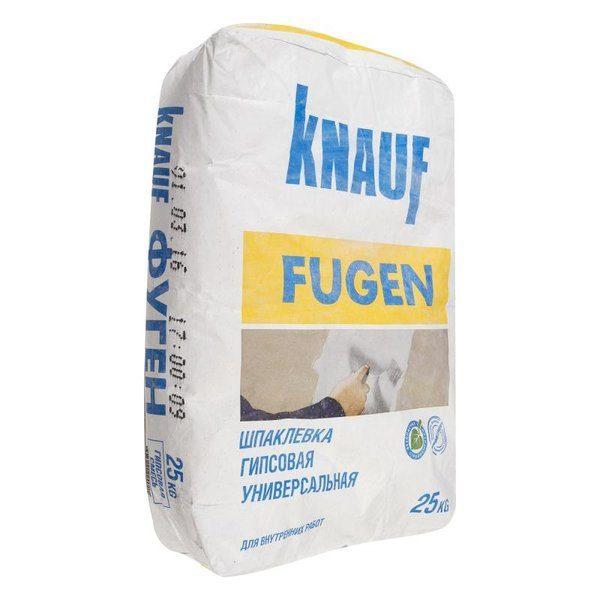 Шпаклёвка гипсовая Knauf Фуген