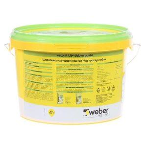 Шпаклёвка готовая Weber vetonit pasta 5 кг со склада в Москве