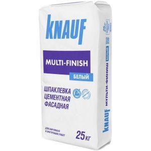 Шпаклёвка цементная Knauf Мульти-Финиш Фасад