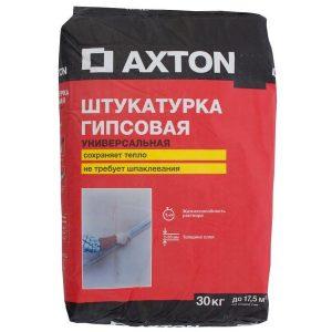 Штукатурка гипсовая Axton
