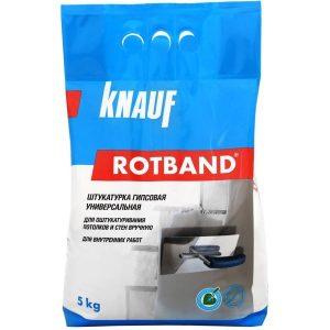 Штукатурка гипсовая Knauf Ротбанд
