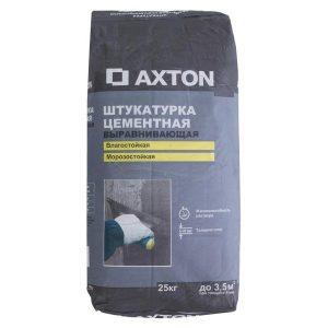Штукатурка цементная Axton