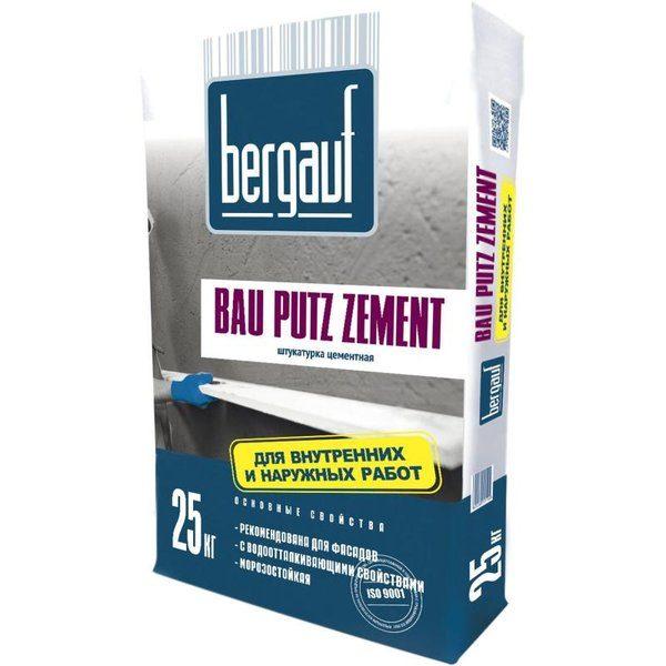 Штукатурка цементная Bergauf Bau Putz Zement