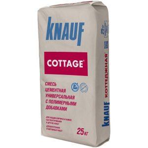 Смесь цементная универсальная Knauf Коттедж