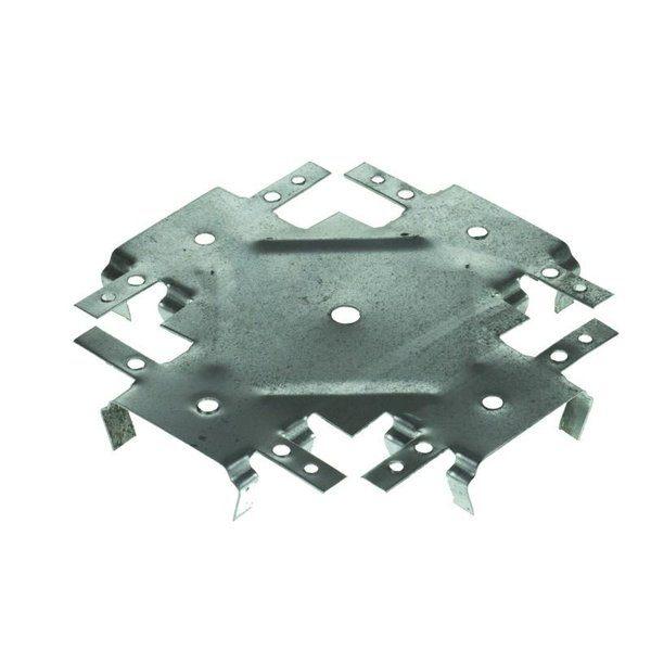 Соединитель потолочных профилей 60х27 мм одноуровневый (краб) со склада в Москве