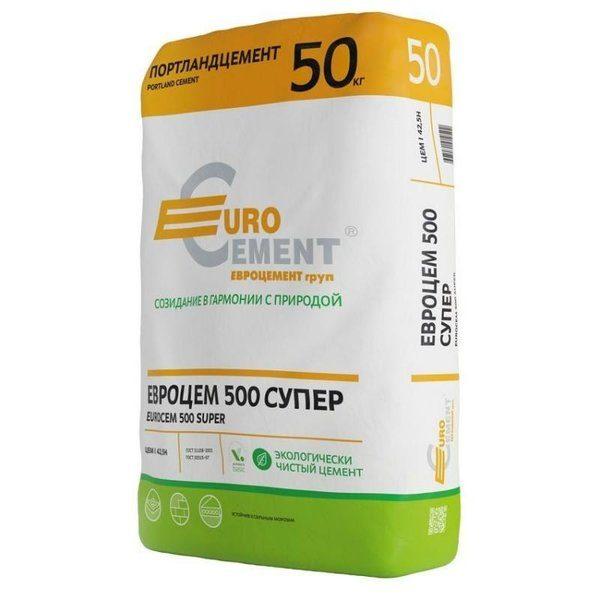 Цемент ПЦ-500 Д20