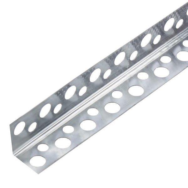 Угол алюминиевый перфорированный 20x20x3000 мм