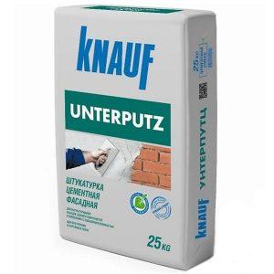 Штукатурка фасадная Knauf Unterputz 25 кг со склада в Москве