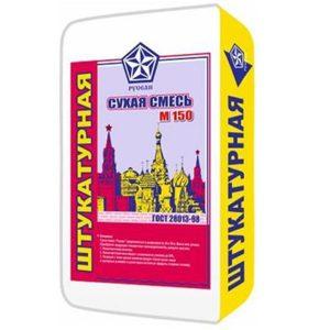 Штукатурная смесь Русеан 40 кг со склада в Москве