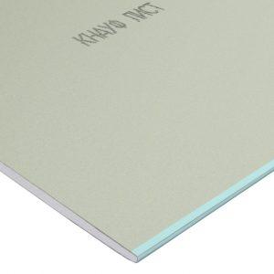 Гипсокартон влагостойкий Knauf ГСП-Н2 2500×1200х9.5 мм