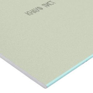 Гипсокартон влагостойкий Knauf ГСП-Н2 2500×1200х12.5 мм