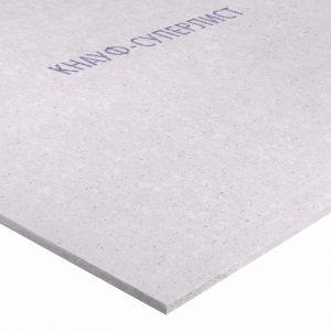 Гипсоволокнистый влагостойкий лист Knauf Суперлист 2500х1200х12.5 мм