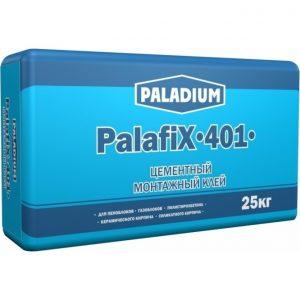 Клей монтажный для блока Paladium Палафикс-401 серый 25 кг