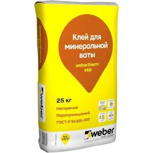 Плиточный клей Weber-Vetonit MW 25 кг