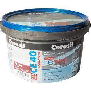 Затирка Сeresit CE-40 Aquastatic 2 кг бордо 35