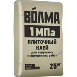 Плиточный клей Волма 1 МПа 25 кг