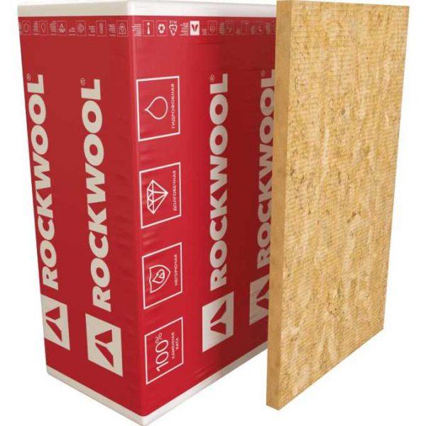 Каменная вата Rockwool ВЕНТИ БАТТС 1000x600x100 мм 2.4 м2 0.24 м3 в упаковке