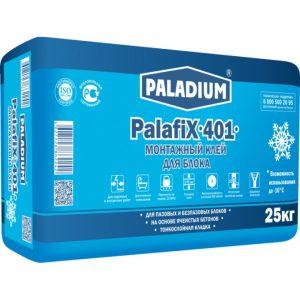 Клей монтажный Paladium PalafiX-401 зима серый 25 кг