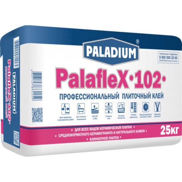 Плиточный профессиональный клей Paladium PalafleX-102 25 кг