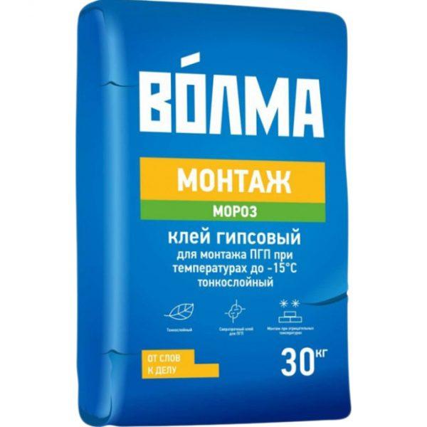 Монтажный клей Волма Монтаж Мороз 30 кг