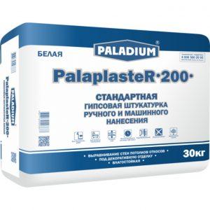 Гипсовая штукатурка Paladium PalaplasteR-200 белая 30 кг
